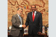 Michel Sidibé met with Minister of Foreign Affairs.