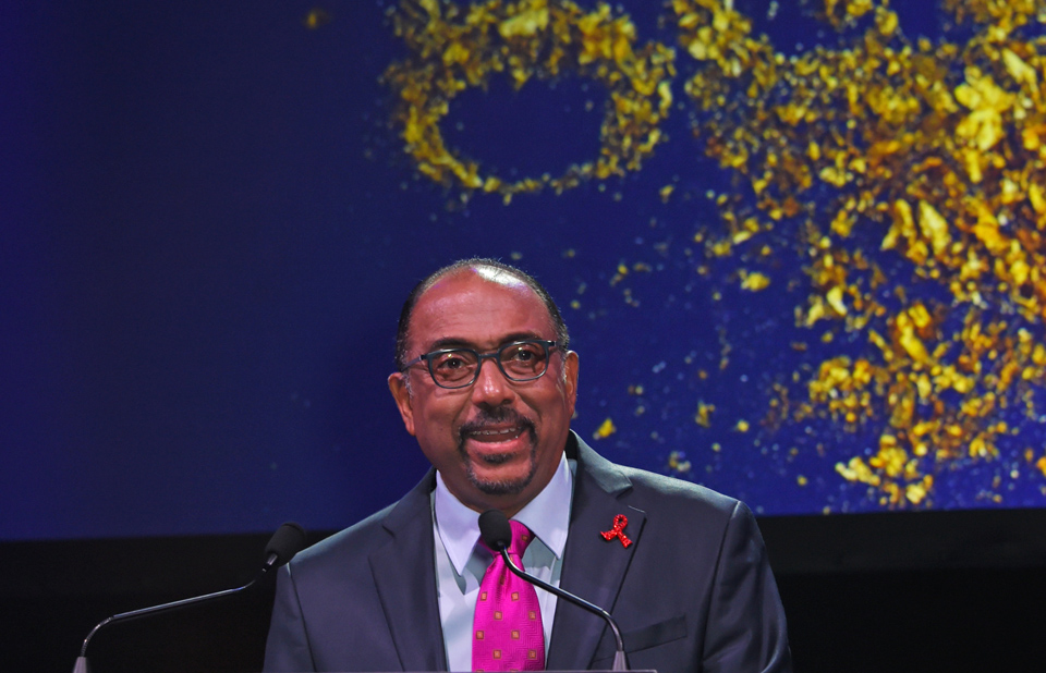 Michel Sidibé unaids gala 2017