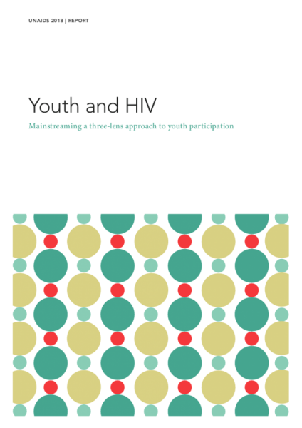Youth and HIV — Mainstreaming a three-lens approach to youth participation