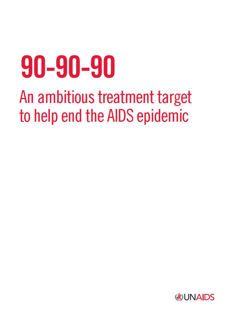 By 2020 90 Of All People With Diagnosed HIV Infection Will Receive Sustained Antiretroviral Therapy Receiving