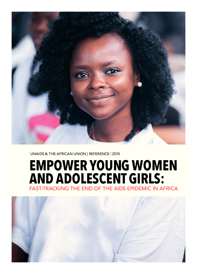 Empower young women and adolescent girls: Fast-Track the end of the