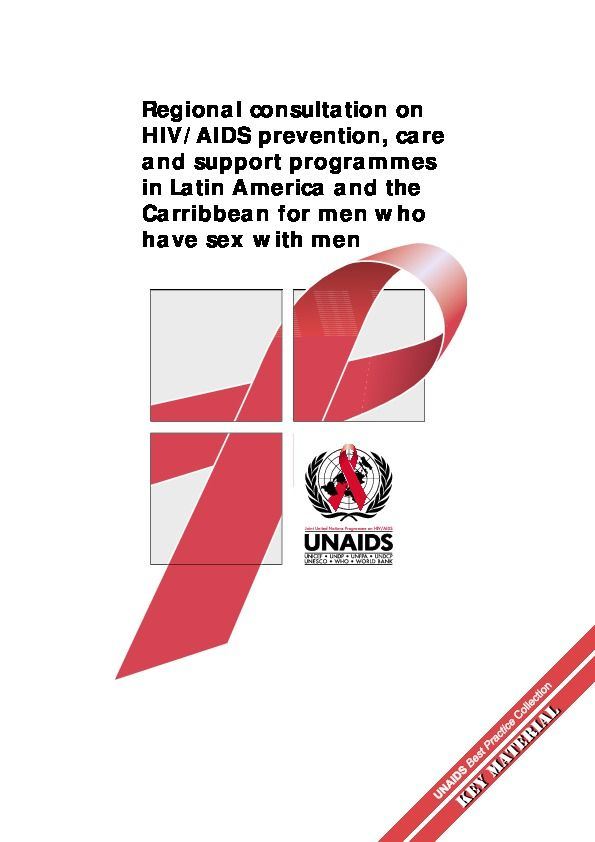 Regional consultation on HIV/AIDS prevention, care and support