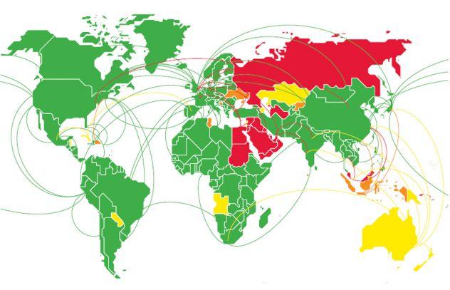 ONUSIDA y PNUD hacen un llamamiento en 48* países y territorios para  retirar todas las restricciones de viaje relacionadas con el VIH. | ONUSIDA