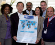 Members of UN Plus, UN Secretary-General and the UNAIDS Executive Director gathered for a meeting in Geneva on 20 May 2009